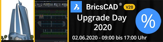 BricsCAD V20 upgradeday website nl